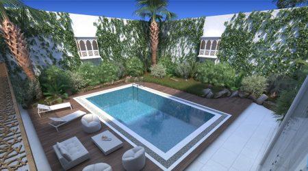 Private Villa Exterior