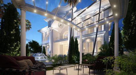 HassanVilla Entrance Interior Design