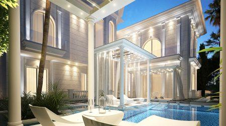 HassanVilla Pool Exterior Design