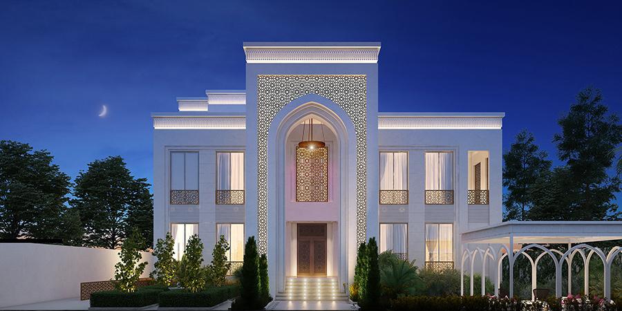 KhalidVilla Exterior Design Dubai