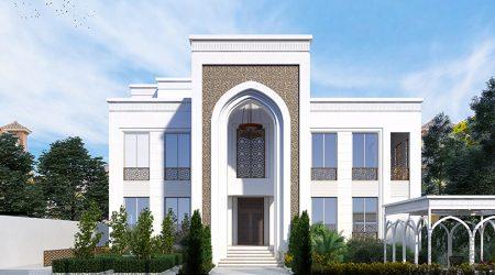 KhalidVilla Exterior Design UAE