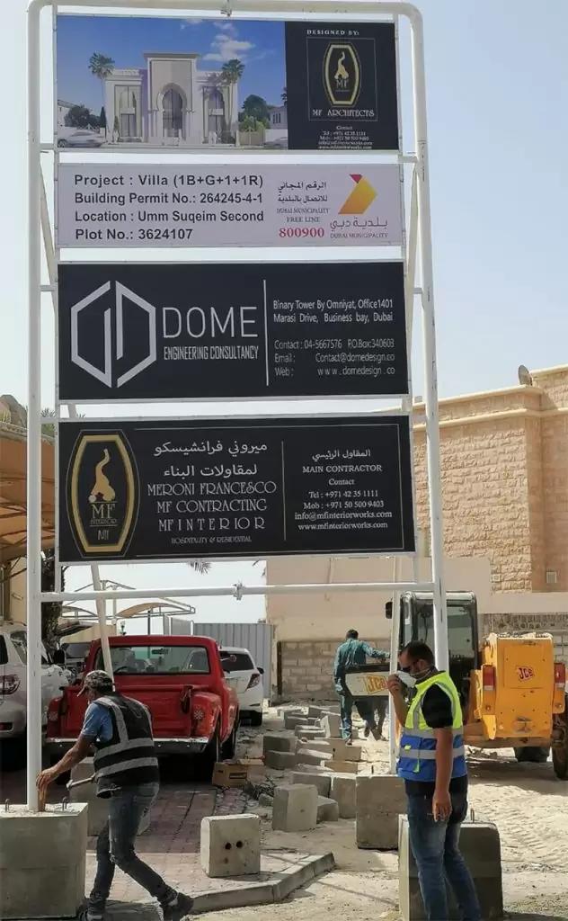 contrating Architectural Designs Dubai