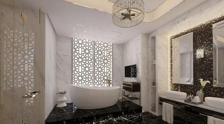 khalid villa first floor master bath
